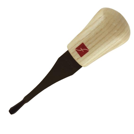 Flexcut FR367 Palm Carving Spoon Gouge, 45 Degree x 1/8-Inch