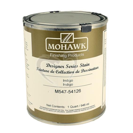 Mohawk M547-54126 Designer Series Stain Indigo, Quart