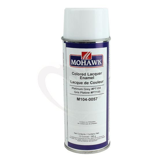 Mohawk M104-0057 Colored Lacquer Enamel Platinum Grey, 13 ounces