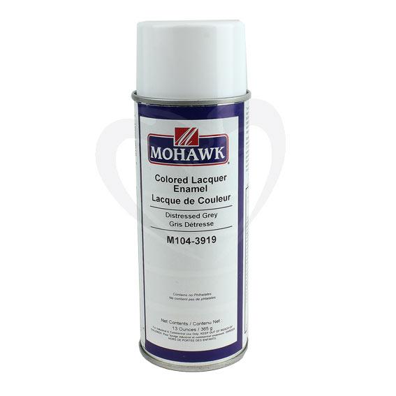 Mohawk M104-3919 Colored Lacquer Enamel Distressed Grey, 13 ounces