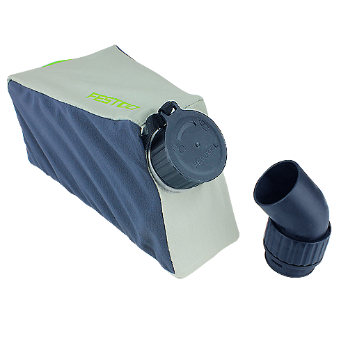 Festool Track Saw Dust Port Adapter & Dust Bag Kit