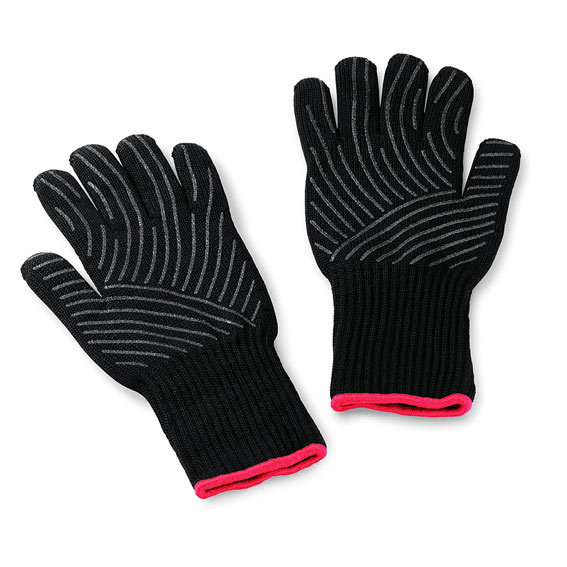 Weber 6535 Premium Black Grilling Gloves