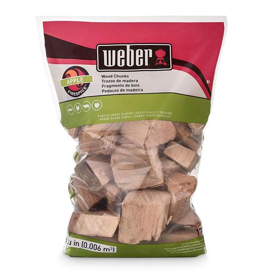 Weber 17139 Apple Wood Chips, 350 Cu. In.