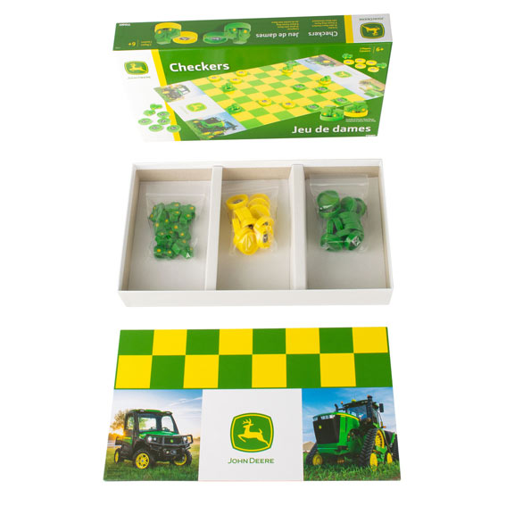 Tomy LP76931 John Deere Checkers Game