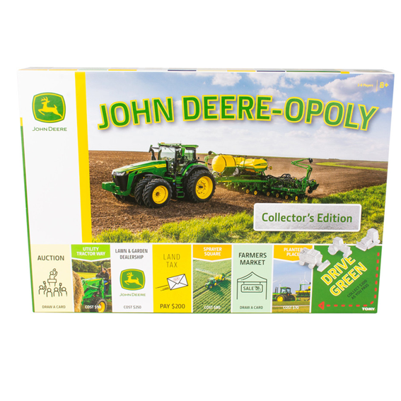 Tomy LP76933 John Deere-opoly Game - Collectors Edition