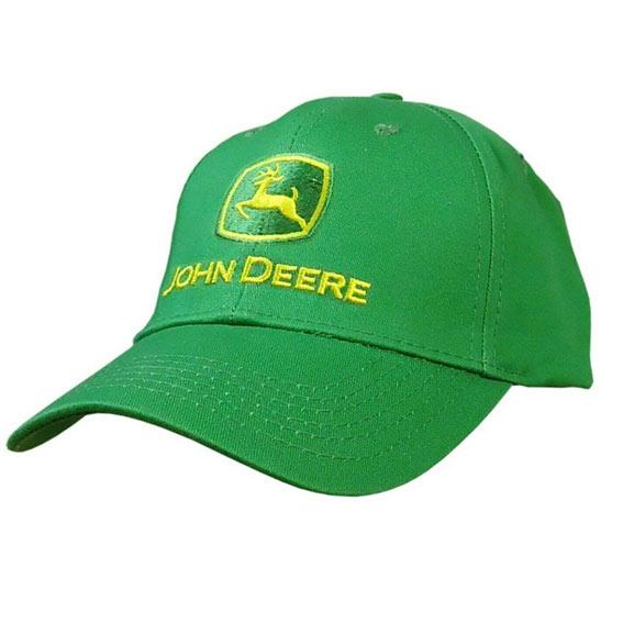 John Deere LP68752 Men's Green Classic Logo Cap