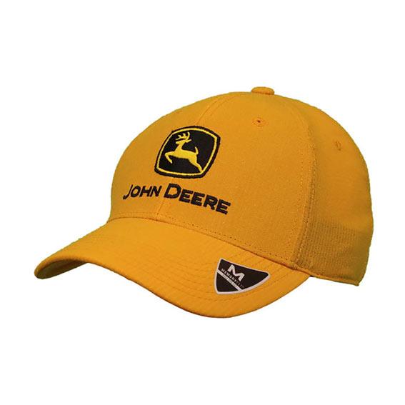 John Deere LP70336 Men's Yellow C & F Memory Fit Cap