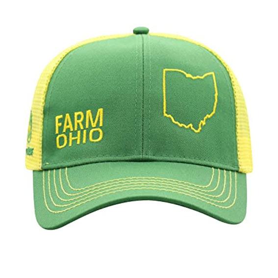 John Deere LP70823 Men's Farm Ohio Cap