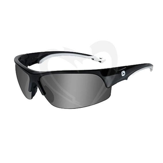 John Deere LP51628 Torque-X Safety Glasses, Grey Lens