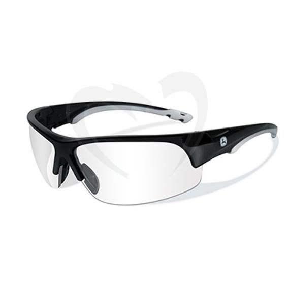 John Deere LP51629 Torque-X Safety Glasses, Clear Lens