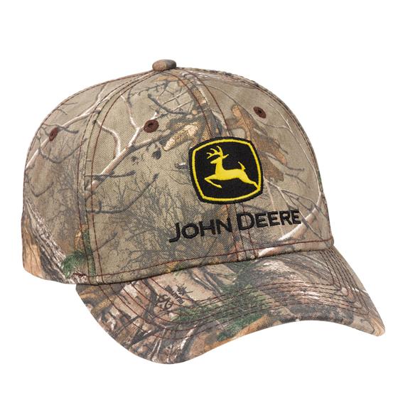 John Deere LP69085 Realtree APX Camo Twill Cap