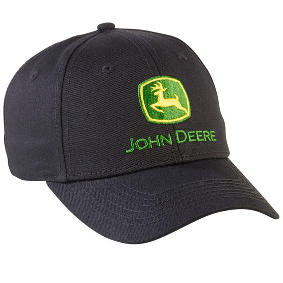 John Deere LP69225 Men's Black NRLAD Structured Cap