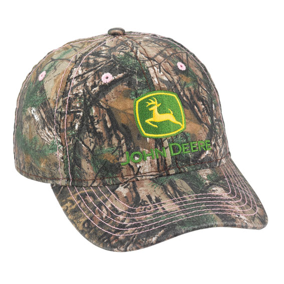 John Deere LP70005 Ladies Realtree AP Xtra Camo Cap