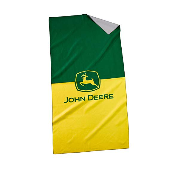 John Deere LP76239 Quick Dry Beach Towel