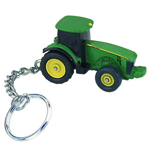 Ertl John Deere 8R Tractor Key Chain