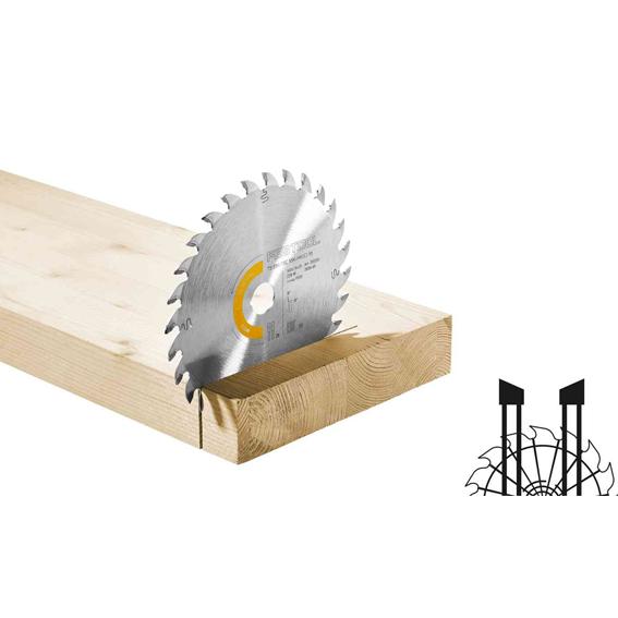 Festool 205560 Universal Wood Saw Blade HW 160x1,8x20 W28