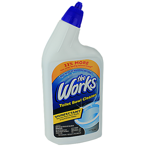 THE WORKS TOILET BOWL CLEANER - 32 OZ