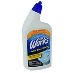THE WORKS TOILET BOWL CLEANER - 32 OZ.