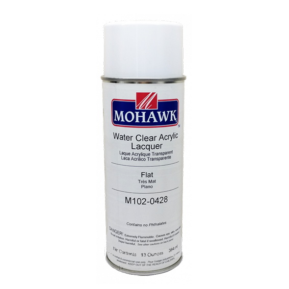 Mohawk M102-0428 Flat Water Clear Acrylic, 13 oz.