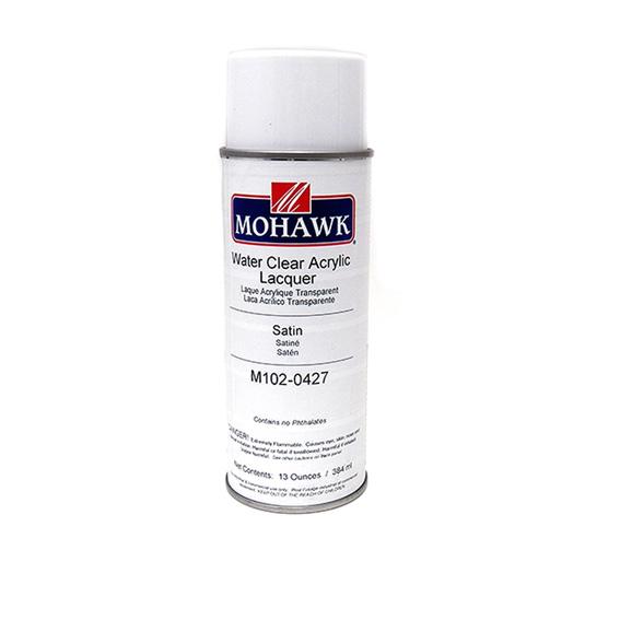 Mohawk M102-0427 Satin Water Clear Acrylic, 13 oz.