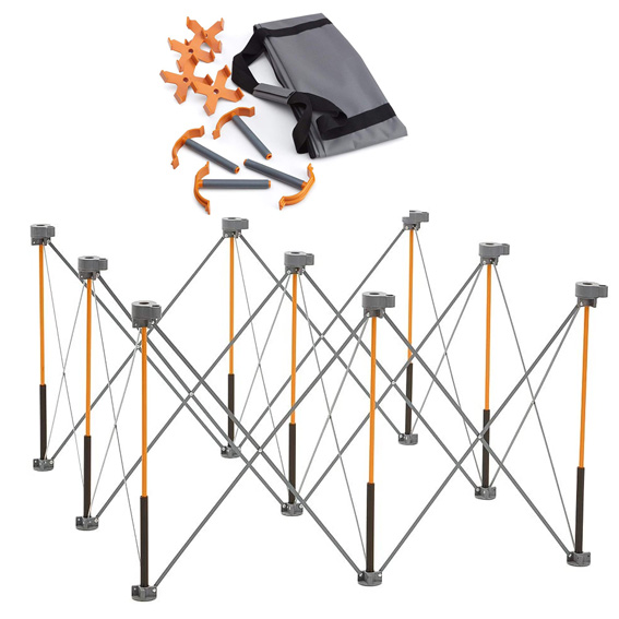 Bora CK15S Centipede 4 x 8 Work Support Stand and Accessories