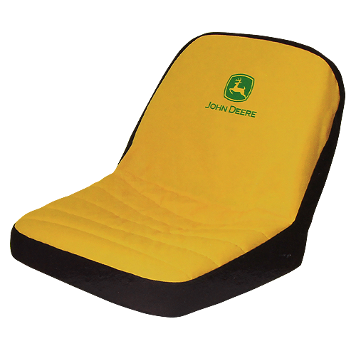 JOHN DEERE #LP22704 SEAT COVER FOR RIDING MOWERS - SMALL