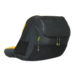 JOHN DEERE #LP40090 RIDING MOWER DELUXE SEAT COVER - BACK VIEW