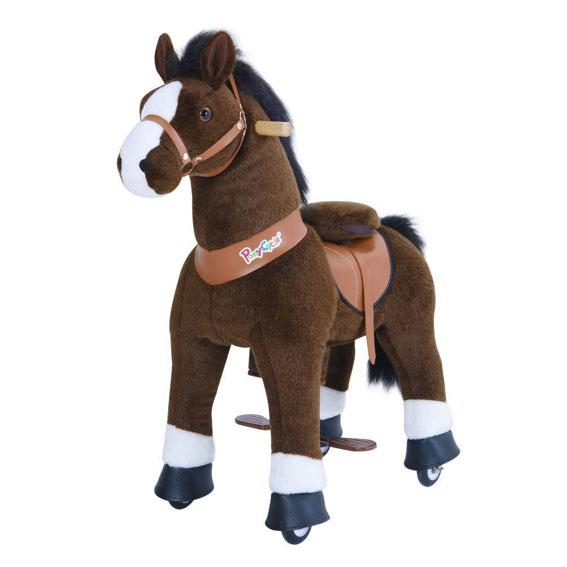Ponycycle UX421 Medium Chocolate & White, U-X 2021 Series