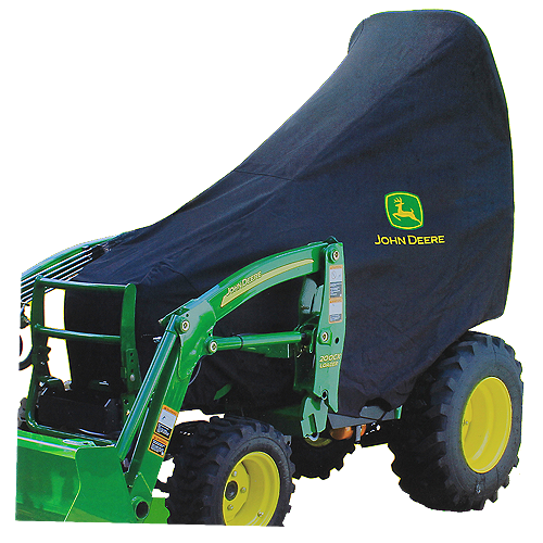 JOHN DEERE #LP95637 COMPACT UTILITY TRACTOR COVER - FRONT VIEW