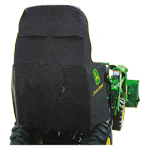 JOHN DEERE #LP95637 COMPACT UTILITY TRACTOR COVER - BACK VIEW