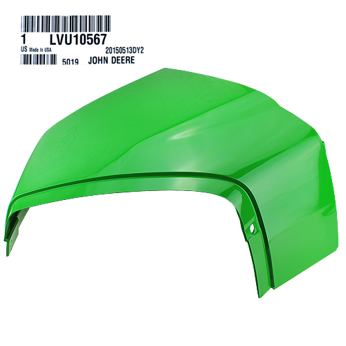 John Deere #LVU10567 Cowl - Right Side