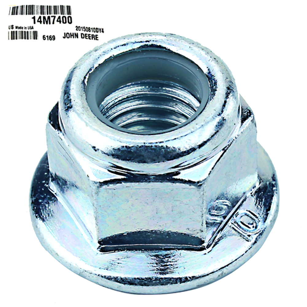 John Deere #14M7400 Lock Nut - 10mm