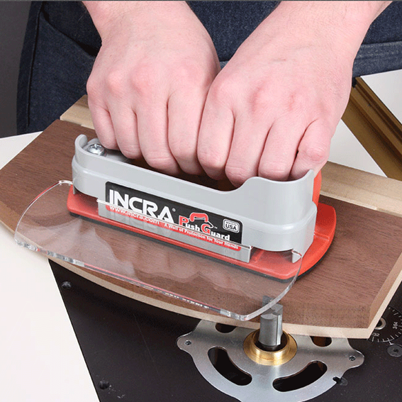 INCRA PUSHGUARD - TEMPLATE GUIDE BUSHING