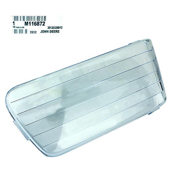 John Deere #M116872 Headlight Lens - Right Side