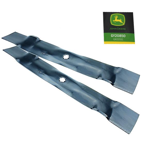 John Deere #GY20850 Lawn Mower Blade Standard Kit