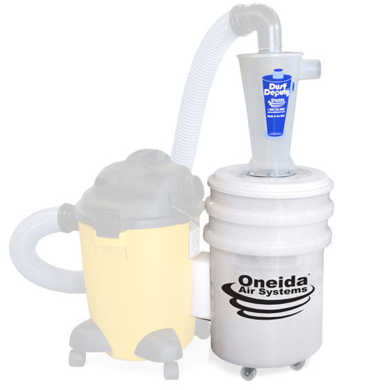 Oneida #AXD000004 Dust Deputy Deluxe Cyclone Separator Kit