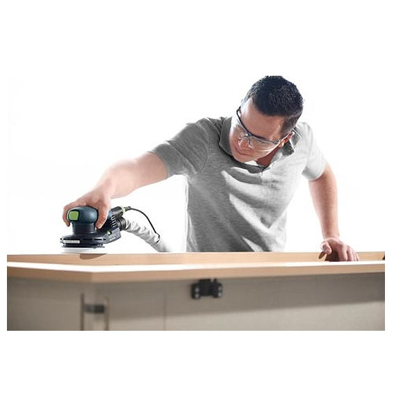 FESTOOL ETS EC 125/3 EQ-PLUS RANDOM ORBIT SANDER - IN USE #1