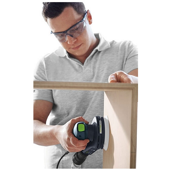 FESTOOL ETS EC 125/3 EQ-PLUS RANDOM ORBIT SANDER - IN USE #2