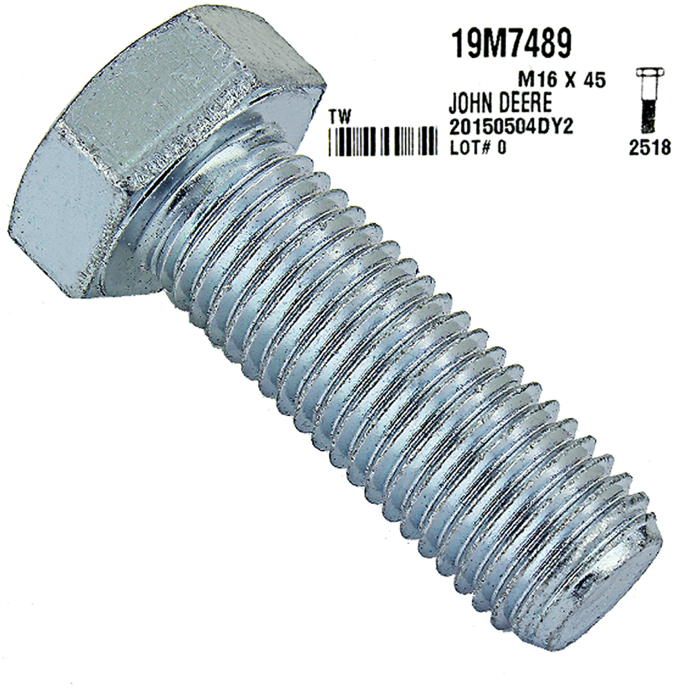 JOHN DEERE #19M7489 CAP SCREW
