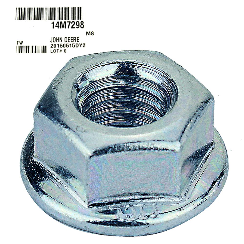John Deere #14M7298 Flange Nut