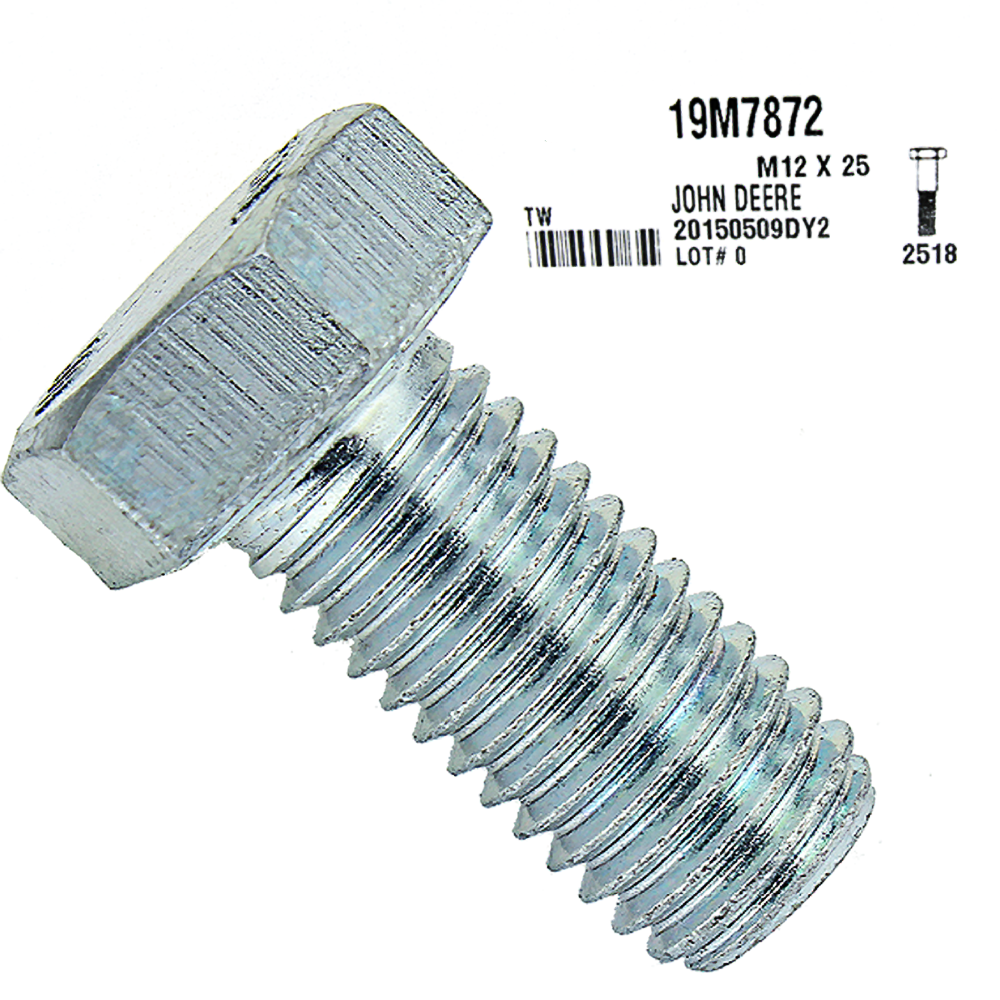 John Deere #19M7872 Cap Screw