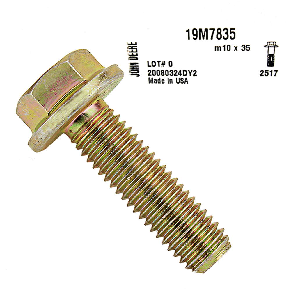 John Deere #19M7835 Screw