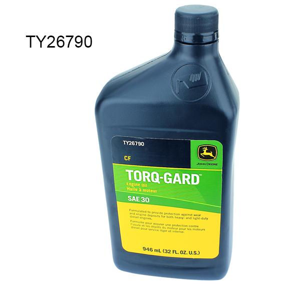 John Deere #TY26790 Torq-Gard SAE 30 Engine Oil - Qt.