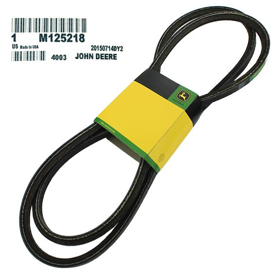 John Deere #M125218 Deck Drive Belt