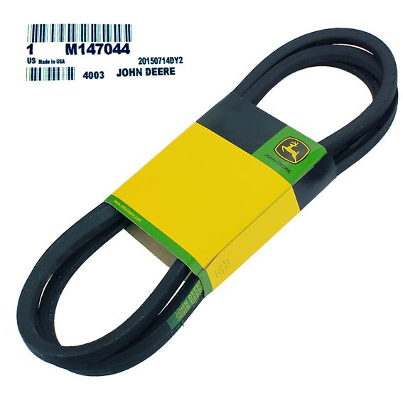 JOHN DEERE #M147044 DRIVE BELT