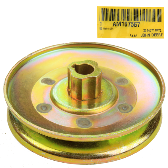 John Deere #AM107567 Idler Pulley