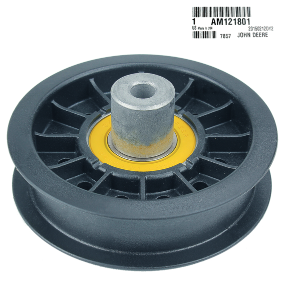John Deere #AM121801 Flat Idler Pulley