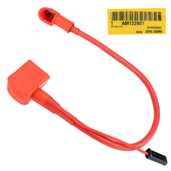 John Deere #AM122807 BATTERY CABLE