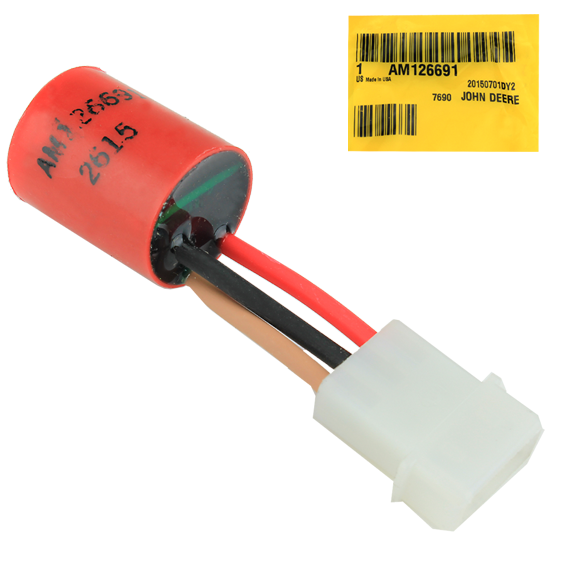 John Deere #AM126691 BATTERY DISCHARGE SOURCING SENSOR