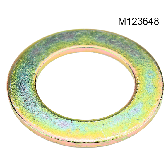 JOHN DEERE #M123648 WASHER